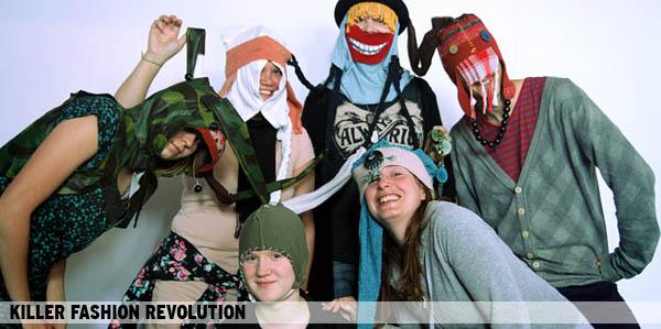 Killer Fashion Revolution - Fashion hacktivism for Human Rights.