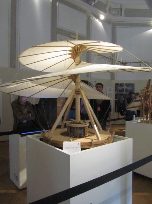 Leonardo da Vinci 3D exhibition
