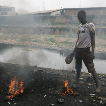 08/2014 Artist in Residence, Agbogbloshie e-waste dump
