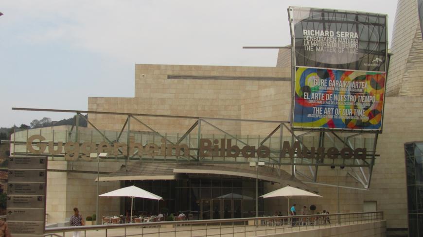 Guggenheim museum Bilbao Spain, kairus.org, Andreas Zingerle