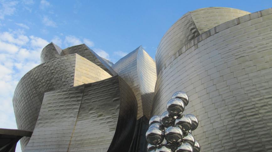 09/04/14: Guggenheim museum Bilbao, Spain