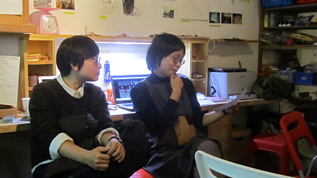 Screading & E-Waste Talk as part of Unmake Lab, Seoul