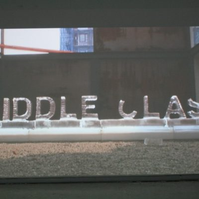 Nora Ligorano's and Marshall Reese's video work Middle Class