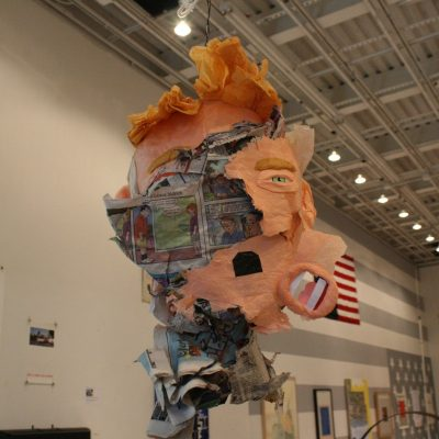 Donald Trump piñata by Pablo Helguera