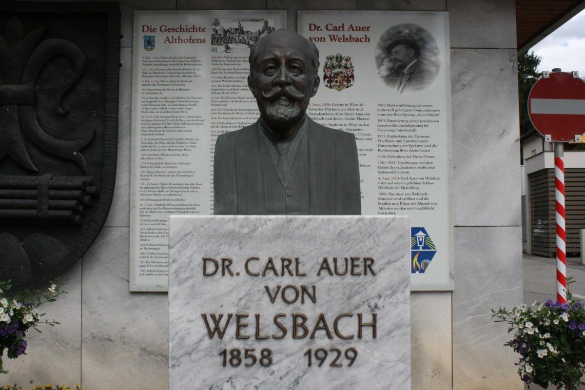 Carl Auer von Welsbach museum, Altofen, Austria