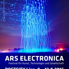 """Behind the Smart World Research lab"" at Ars Electronica 2016"