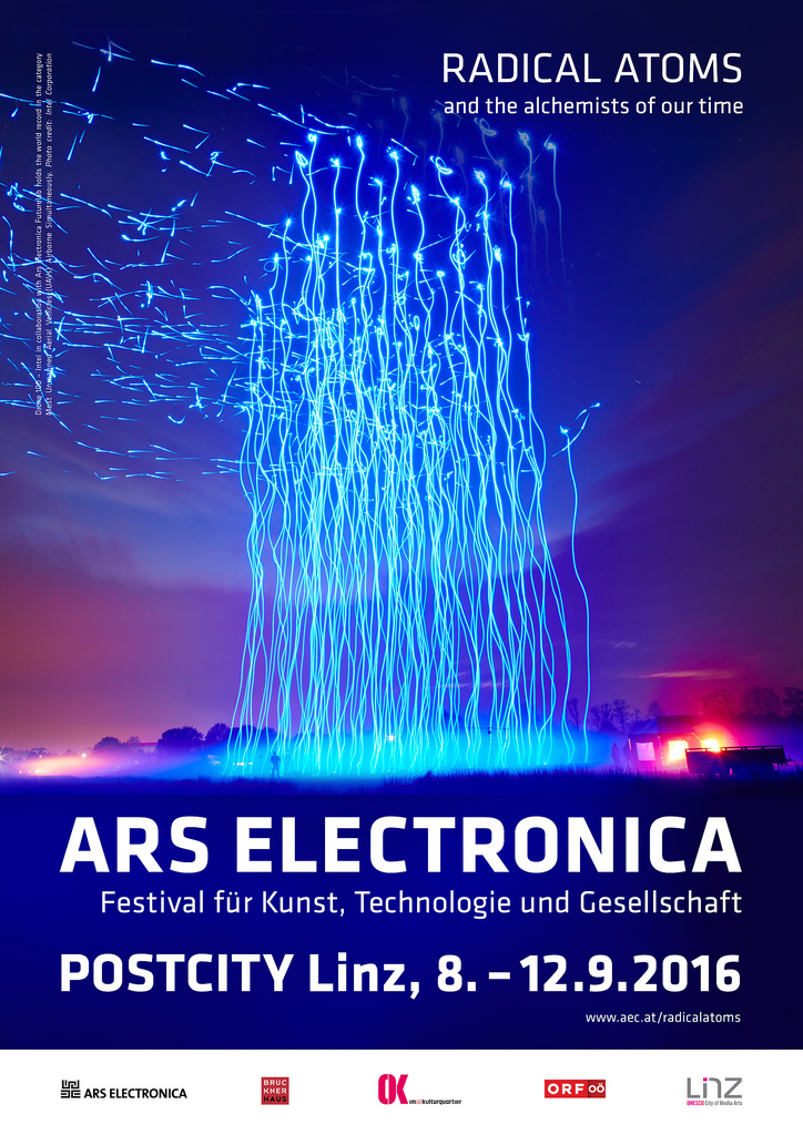 """""""Behind the Smart World Research lab"""" at Ars Electronica 2016"""