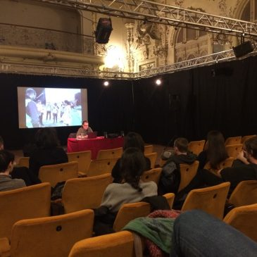 Artist talk at Drugo-more, Rijeka (Croatia)
