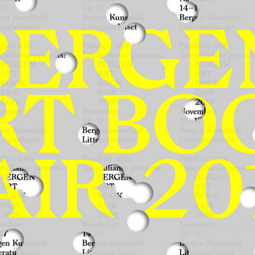 Bergen Art Book Fair 2019