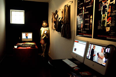 Killer Fashion Revolution exhibited at Masters of Arts (MOA) exhibition in Helsinki, Finland.