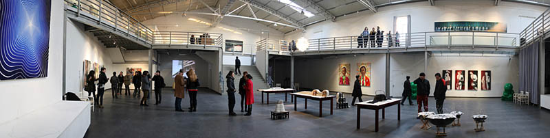 """The project was presented in the """"Intersection""""- exhibition a group exhibition by 8 Red Gate Gallery artists and 8 Chineese artist from the area of Feijasun."""