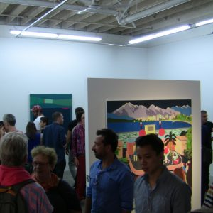 First exhibition opening at New Media Gallery in the Anvil Centre at New Westminster