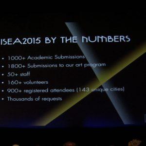 ISEA 2015 in numbers