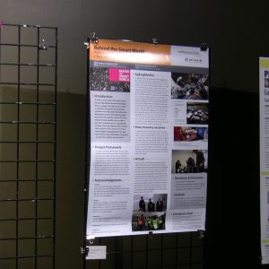 """The """"Behind the Smart World"""" poster"""