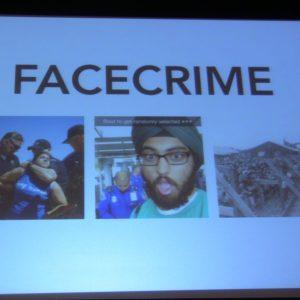 Leo Selvaggio. URME Surveillance: Analyzing Viral Face-crime