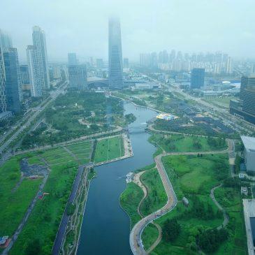 Summer Research lab: U-city Songdo IBD, Korea