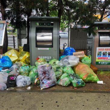 Pneumatic trash in Daejeon (ROK)