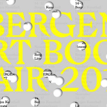 Bergen Art Book Fair 2019