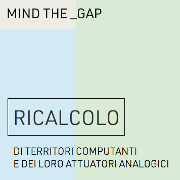 RICALCOLO – RECALCULATE, Gorizia/Italy